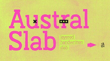 Austral Slab Font