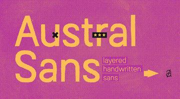 Austral Sans Font