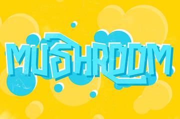 Mushroom Font