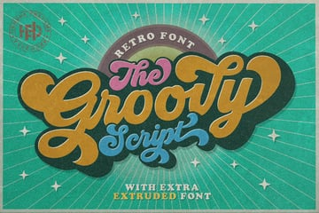 70s Retro Font
