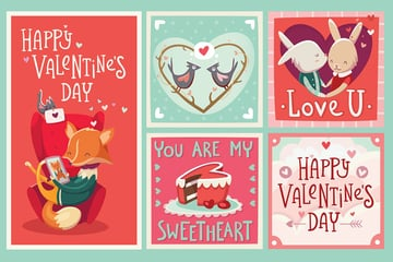 Valentines Day Cards by moonery