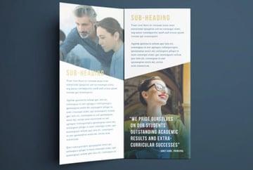 College Brochure Template