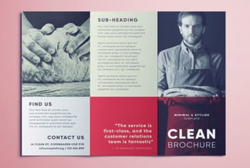 Clean Brochure Template