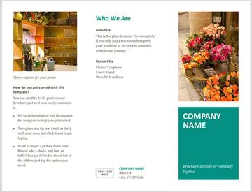 Microsoft Word Brochure Template