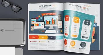 SEO Development Infographic Design