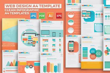 Web Design Infographic Elements Design