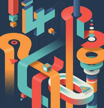 New Scientist - Shapes versus Numbers by Mario De Meyer