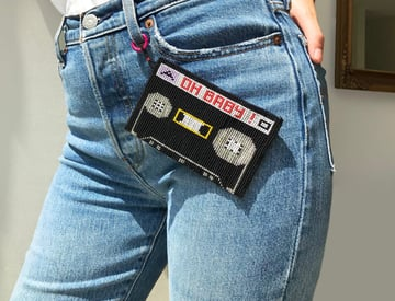 Cassette Clutch by Melissa Chaib