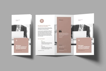 Template Brochure Design