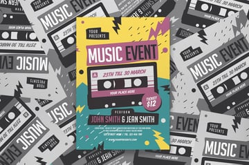Music Event Flyer