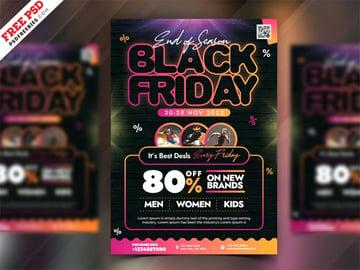 Black Friday Sale Event Flyer