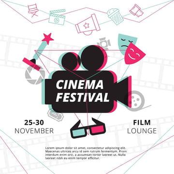 Movie Flyer Design Template