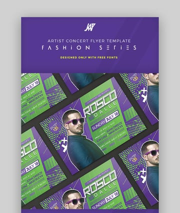 Concert Event Flyer