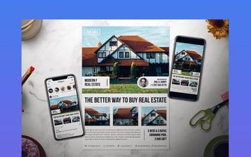 Real Estate Flyer Template Set