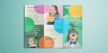 School Brochure Flyer Template