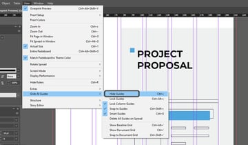 Hiding Guides in InDesign