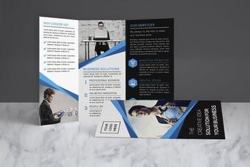 Brochure Design Template InDesign