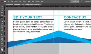 InDesign Text Tool
