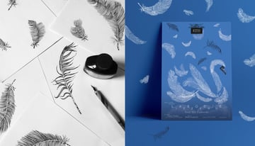 Swan Lake Ballet Poster Design by Vesna Skornek