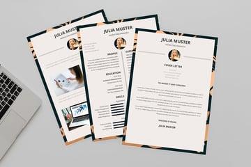 InDesign CV Resume Design Template