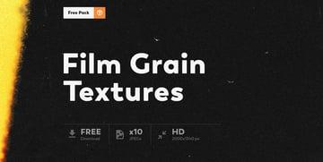 10 Free Film Grain Texture Photo Overlays