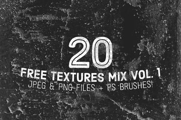 20 Free Mixed Grunge Textures and Overlays