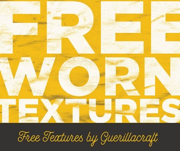 15 Free Worn Textures for Photoshop