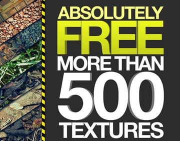 500 Free Textures in this Ultimate Texture Pack