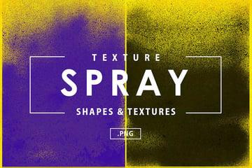 Spray Textures Overlays for Adobe Photoshop