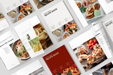 Stylish Cook Book Design Template