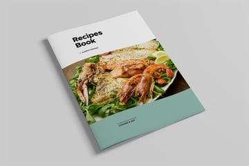 Cook Book Template Design