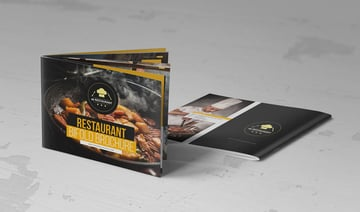 Food Restaurant Cook Book Template