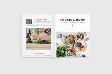 Food  Cooking Book Template