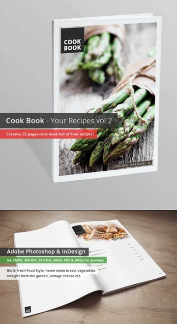 Your Recipes Cook Book Template