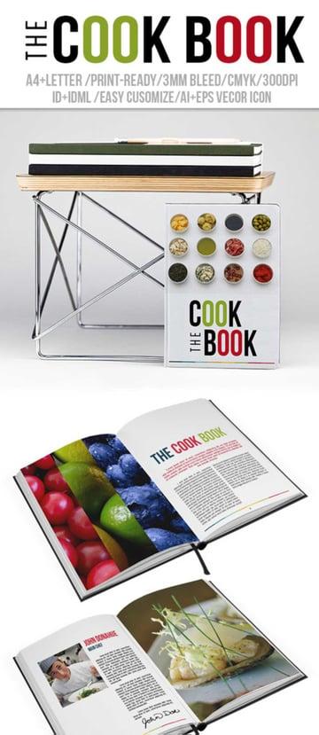 The Cook Book - Recipe Book Template