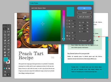 Fill Color InDesign