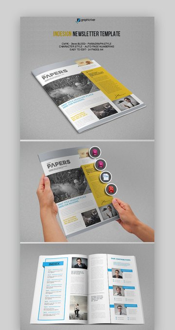 Papers Newsletter Template