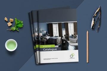 A5 Interior Catalogue Template