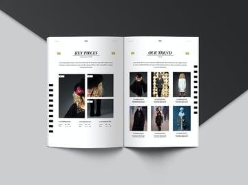 Stripes Lookbook Catalogue Template
