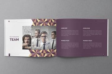 Minimal Catalog Template Design