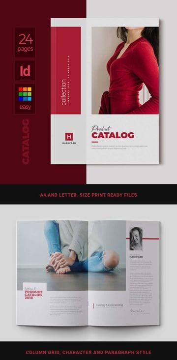 Product Catalogue Template Design