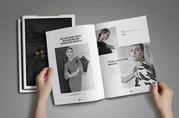 Photo Book Design Template