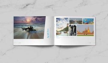 Elegant Photo Book Template Album