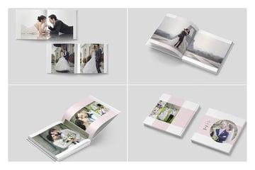 InDesign Wedding Photobook Template