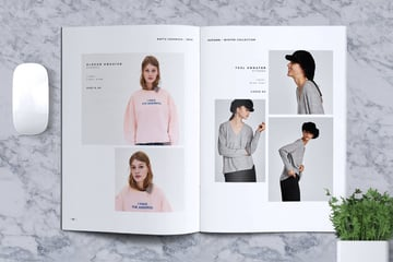 Lookbook Brochure Catalogue