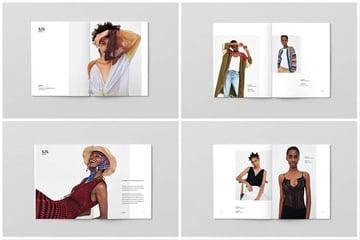 Fashion Lookbook Design Template