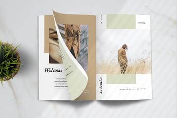Designer Fashion Lookbook Template