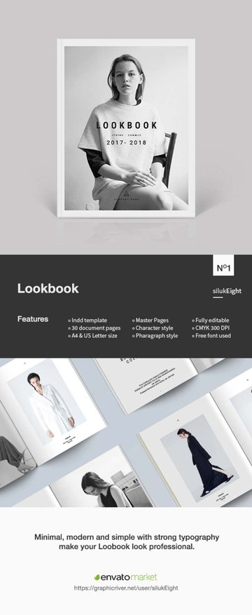 Lookbook Design Template