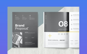 Marketing Business Proposal Design Template