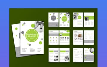Proposal Template Design for Adobe InDesign